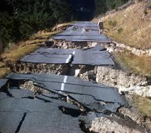 slide-Hebgen_HWY287Fracture_RBColton_USGS